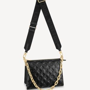 Brand New Louis Vuitton M57790 COUSSIN PM  black